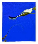 A Surf Fisherman Fleece Blanket