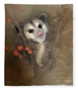 A Thief In The Night Fleece Blanket