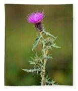 A Thorny Beauty Fleece Blanket