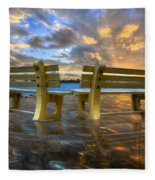A Time For Reflection Fleece Blanket