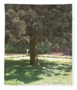 A Tree Fleece Blanket