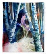 A Unicorn In The Distance Fleece Blanket