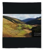 Natural Beauty In Wicklow, Ireland Fleece Blanket