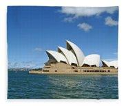 A View Of The Sydney Opera House Fleece Blanket