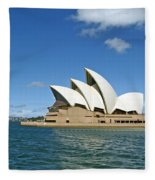 A View Of The Sydney Opera House Fleece Blanket
