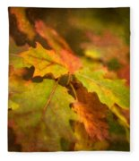 A Vision Of Fall Fleece Blanket