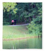 A Walk In Nature Fleece Blanket
