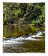 A Waterfalls Beginning Fleece Blanket