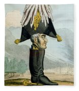 A Wellington Boot Or The Head Fleece Blanket