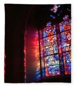 A Window In A Church Fleece Blanket