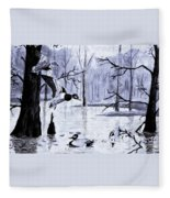 A Winter Reunion Fleece Blanket