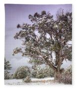 A Winter's Day  Fleece Blanket