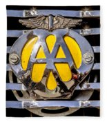 Aa Mu Emblem Fleece Blanket