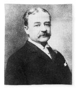 Aaron Montgomery Ward (1843-1913) Fleece Blanket