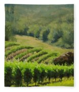 Abacela Vineyard Fleece Blanket
