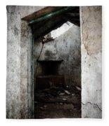 Abandoned Little House 1 Fleece Blanket