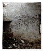 Abandoned Little House 3 Fleece Blanket