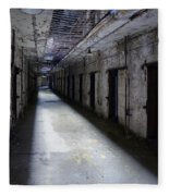 Abandoned Prison Fleece Blanket