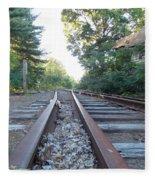 Abandoned Railroad 1 Fleece Blanket