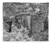 Abandoned Root Cellar - Alstown - Washington - May 2013 Fleece Blanket