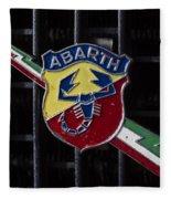 Abarth Emblem Fleece Blanket