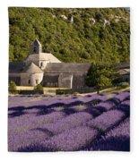 Abbaye De Senanque Fleece Blanket