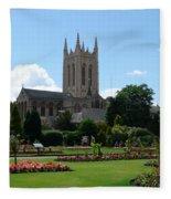 Abbey Gardens Fleece Blanket