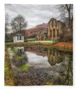 Abbey Reflection Fleece Blanket