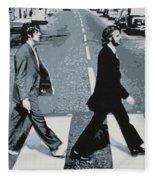Abbey Road 2013 Fleece Blanket