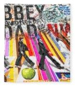 Abbey Road Fleece Blanket