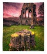 Abbey Ruin Fleece Blanket