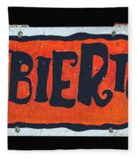 Abierto Fleece Blanket