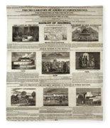 Abolitionism, 1736 Fleece Blanket