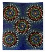 Aboriginal Inspirations 16 Fleece Blanket