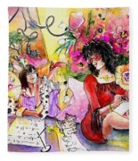 About Women And Girls 16 Fleece Blanket