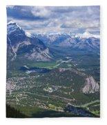 Above Banff Fleece Blanket