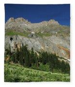 Above The Fruited Plains Fleece Blanket