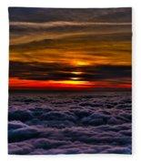 Above The Marine Layer Fleece Blanket