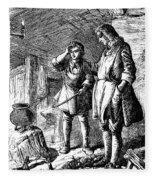 Abraham Darby (1678-1717) Fleece Blanket