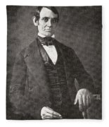 Abraham Lincoln, 1809 – 1865.  16th President Of The United States Of America.  From Abraham Fleece Blanket