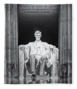 Abraham Lincoln Memorial Fleece Blanket