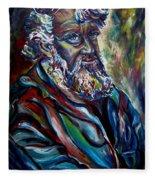 Abraham  Patriarch Fleece Blanket