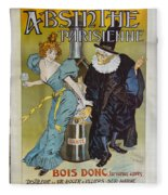 Absinthe Pariaienne Dsc05583 Fleece Blanket
