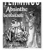Absinthe Poster, 1892 Fleece Blanket
