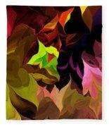 Abstract 012014 Fleece Blanket
