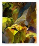 Abstract 042113 Fleece Blanket