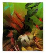 Abstract 050713 Fleece Blanket