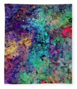 Abstract 061313 Fleece Blanket