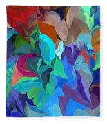 Abstract 062713 Fleece Blanket