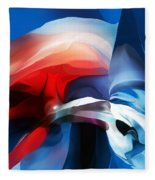 Abstract 071713 Fleece Blanket